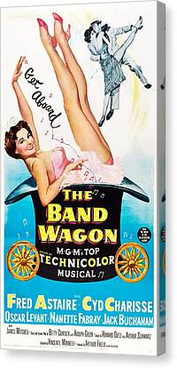Cyd Canvas Print - The Band Wagon, Cyd Charisse, Fred by Everett
