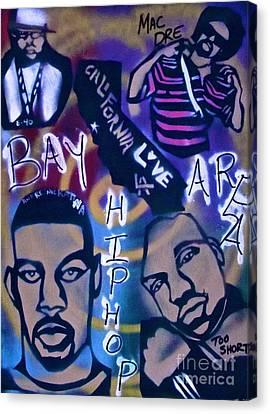 The Bay Area Canvas Print by Tony B Conscious