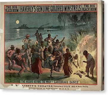 The Big Black Boom Canvas Print by British Library