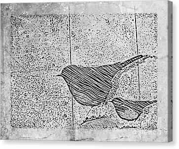 The Birds Canvas Print by Tripti Singh