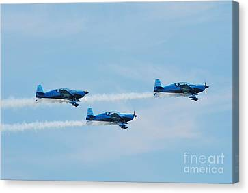 The Blades Aerobatic Team Canvas Print