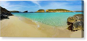 The Blue Lagoon Canvas Print by Wladimir Bulgar
