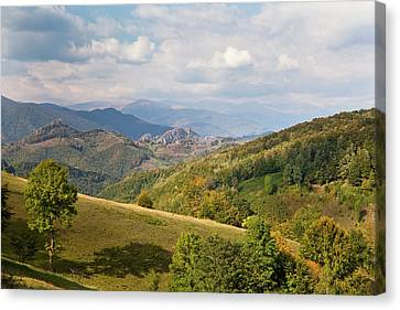 The Carpathian Mountains, Cerna Valley Canvas Print by Martin Zwick
