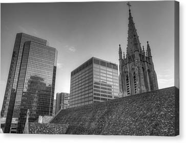 The Cathedral Of St. John The Evangelist Canvas Print by William Ragan