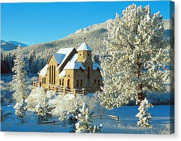 The Chapel On The Rock II Canvas Print by Eric Glaser