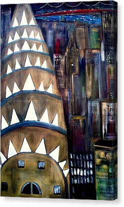 The City That Never Sleeps  Canvas Print by Rick Todaro