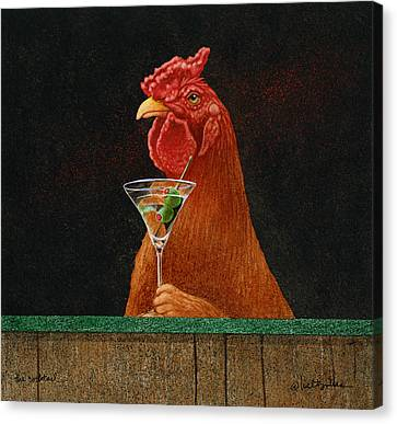 The Cocktail... Canvas Print