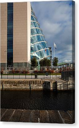 The Convention Centre Dublin , Dublin Canvas Print by Panoramic Images