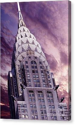 The Crysler Building Canvas Print by Jon Neidert