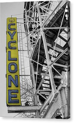 The Cyclone Canvas Print by JC Findley