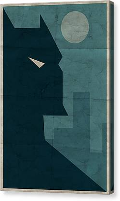 Books Canvas Print - The Dark Knight by Michael Myers