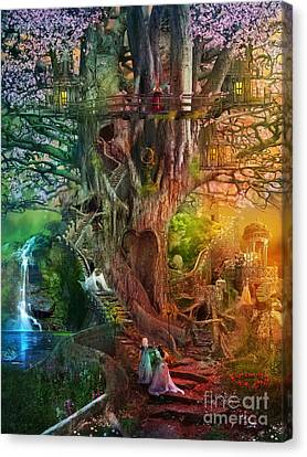 The Dreaming Tree Canvas Print by Aimee Stewart