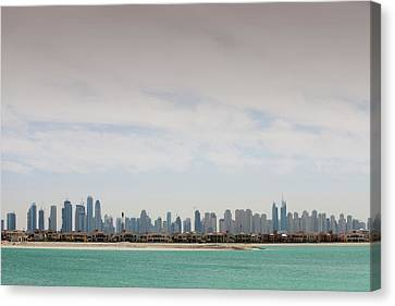 The Dubai Skyline Canvas Print by Ashley Cooper