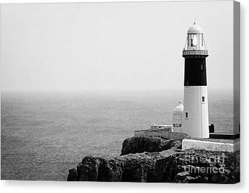 The East Light Lighthouse Altacarry Altacorry Head Rathlin Island Ireland Canvas Print by Joe Fox