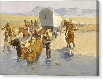 The Emigrants Canvas Print