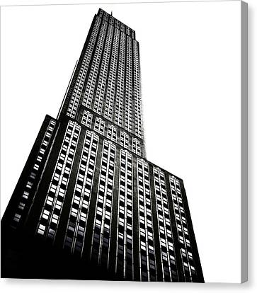 The Empire State Building Canvas Print by Natasha Marco