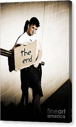 The End Canvas Print by Jorgo Photography - Wall Art Gallery