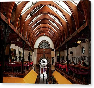 The English Market, Cork City, Ireland Canvas Print by Panoramic Images