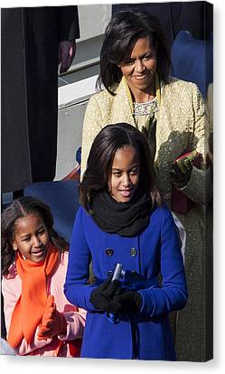 Malia Obama Canvas Print - The First Family by JP Tripp