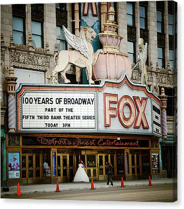 Natasha Canvas Print - The Fox Theatre by Natasha Marco