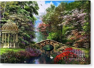 The Garden Of Peace Canvas Print