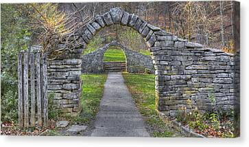 Canvas Print featuring the photograph The Gateway by Wendell Thompson