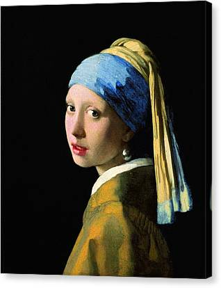 The Girl With A Pearl Earring Canvas Print
