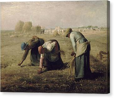 The Gleaners Canvas Print - The Gleaners by Jean Francois Millet