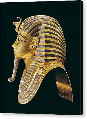 The Gold Mask. Ca. 1340 Bc. Gold Mask Canvas Print