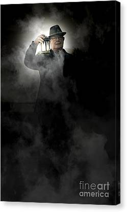 Graveyard Canvas Print - The Graveyard Shift by Jorgo Photography - Wall Art Gallery