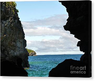 The Grotto Canvas Print by Al Fritz