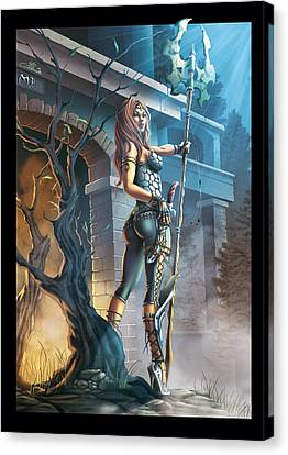 The Guardian Canvas Print by Ylenia Art