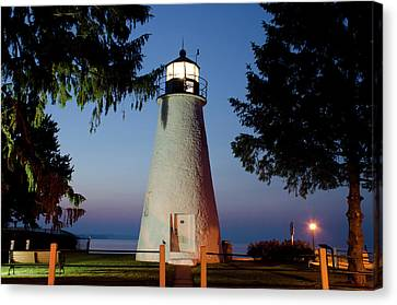 Concord Point Lighthouse Canvas Print