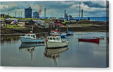 Paddys Hole Canvas Print - The Harbour by Trevor Kersley