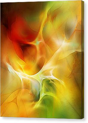 The Heart Of The Matter Canvas Print by David Lane
