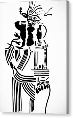 The Holy Family Canvas Print by Gloria Ssali