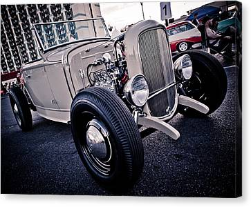 The Hot Rod Canvas Print by Merrick Imagery