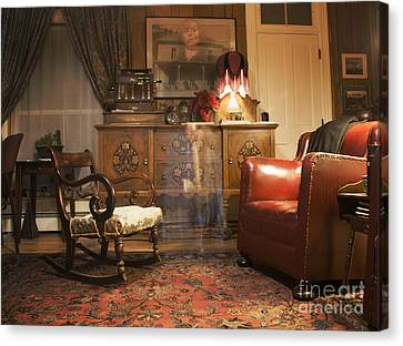 Long Bed Canvas Print - The Lobby by Juli Scalzi