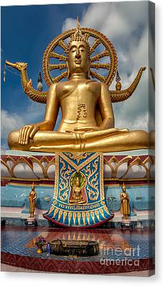 Lessons Canvas Print - The Lord Buddha by Adrian Evans
