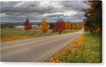 The Magic Of The Fall Canvas Print by Nick Mares