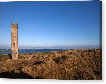 The Maiden Tower, Mornington, County Canvas Print