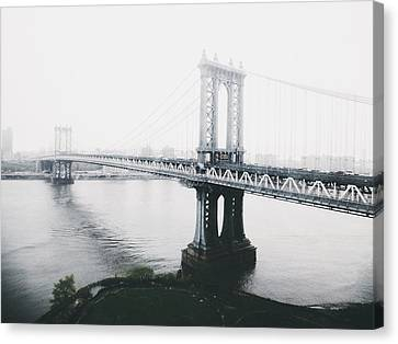 The Manhattan Bridge Canvas Print by Natasha Marco