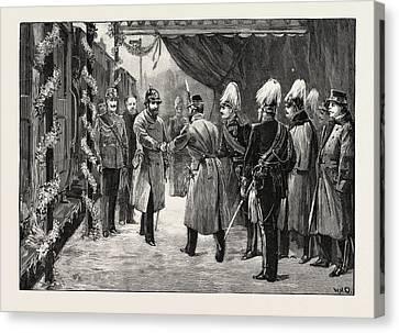 The Marriage Of Princess Marie Of Edinburgh Arrival Canvas Print