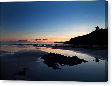 The Metal Man On Newtown Head, Tramore Canvas Print by Panoramic Images