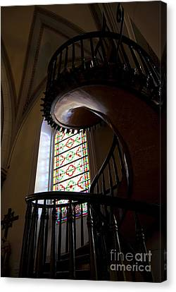 The Miraculous Staircase Canvas Print by Gina Savage