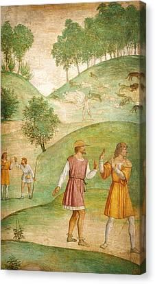 The Misfortunes Of Cephalus Canvas Print