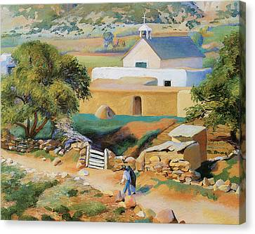 The Mission Church Canvas Print