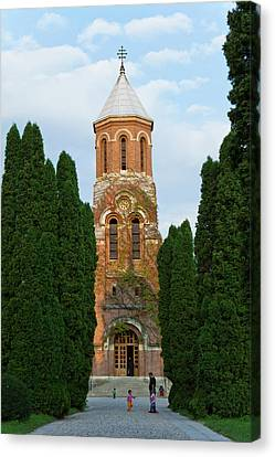 The Monastery Of The Episcopal Canvas Print