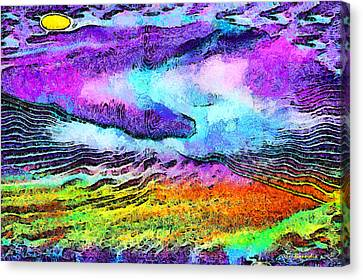 The Moon Of My Soul Canvas Print by George Rossidis