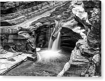 The Narrows Watkins Glen Canvas Print